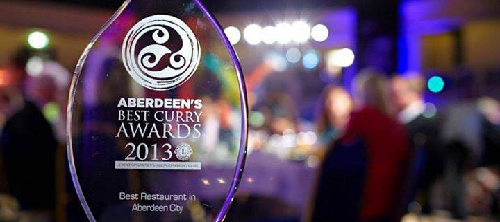 Aberdeen best curry award 2013